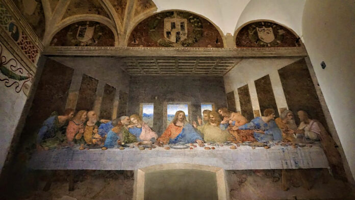 The Last Supper, photo credits Joyofmuseums