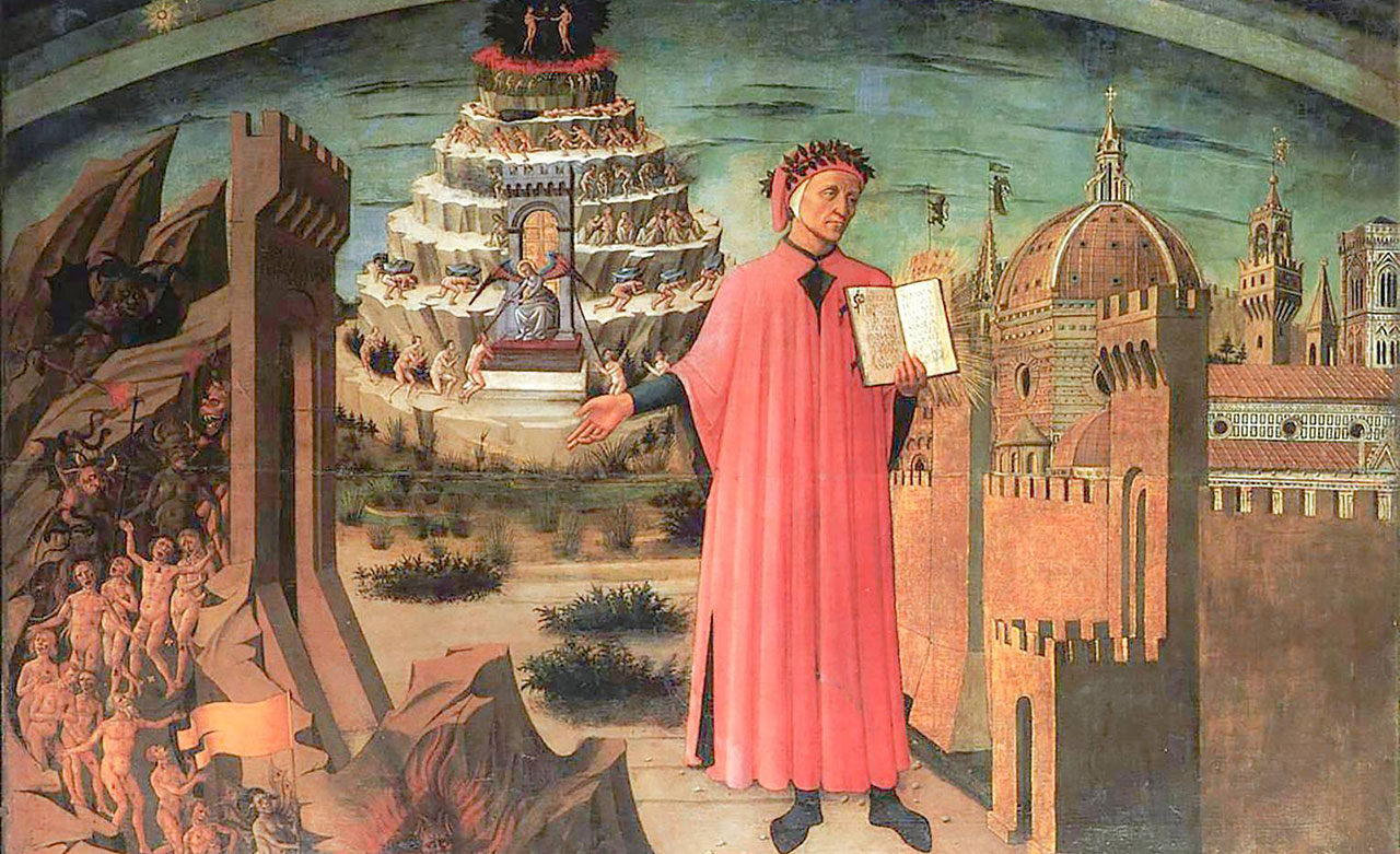 Dante 2021, a tribute to the great Italian poet