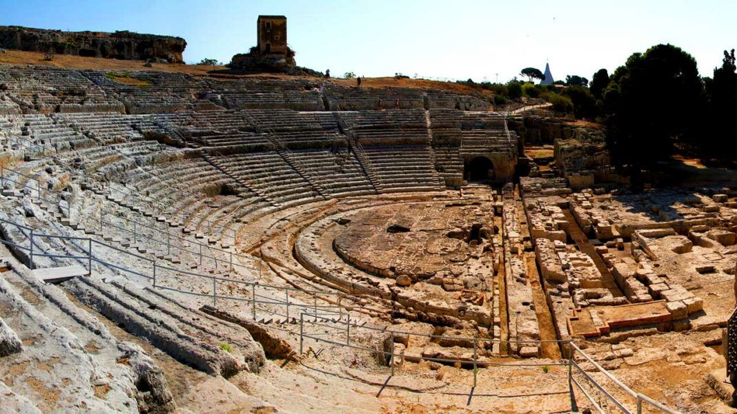 The Greek Theater in Syracuse