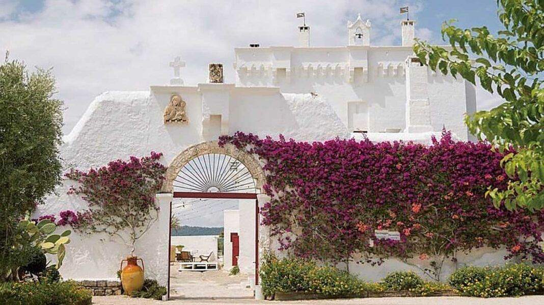 A traditional Apulian masseria