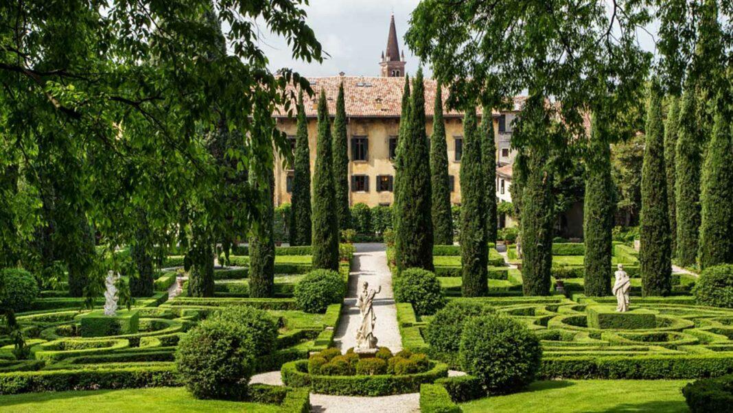 Giardino Giusti, in Verona